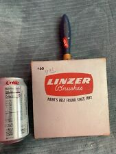 New Listing Vintage Linzer 6� Large Paint Brush with Box #60