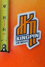 K Kingpin Nyc King Clear 90's Rollerblade Blades Skates Inline Skating Sticker