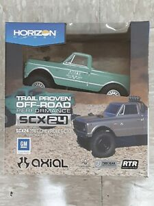 Axial SCX24 1967 Chevrolet C10 1/24 4WD RTR Scale Mini Crawler Green Brand New!!