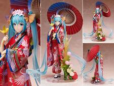 Vocaloid Hatsune Miku Yukata Hanairogoromo Kimono Figure Figurine No Box