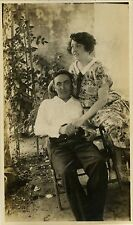 PHOTO ANCIENNE - VINTAGE SNAPSHOT - COUPLE AMOUREUX MODE - LOVERS FASHION