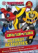 NEW, TRANSFORMERS ROBOT IN DISGUISE. AUTOBOT ACTIVITES 9781474868167