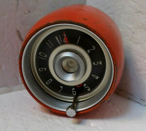 1957 1958 Chrysler Clock Works Perfectly 57 58 300 New Yorker Newport