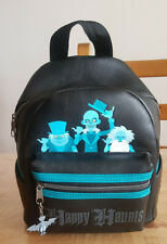 Disney Loungefly mini backpack purse Happy Haunts Hitchhiking 10.5 inches tall