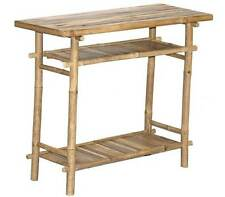 Bamboo Side Buffet Hall Display Table- Eco-Friendly