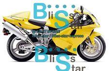 Yellow INJECTION Fairing+Tank Bodywork Kit Fit Suzuki TL 1000R 98-03 04 A1