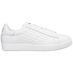 Emporio Armani EA7 sneakers men X8X001XCC5100001 logo detail Pelle shoes