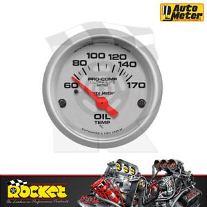Auto Meter Pro-Comp Ultra-Lite 2-1/16 Oil Temp Gauge 60-170°C - AU4348-M