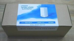 Linksys VELOP Dual-Band Series VELOP AC1300 Whole Home Mesh Wi-Fi System