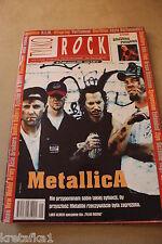 Tylko Rock 1/1999 Metallica, R.E.M, Offspring, Portishead,Smashing Pumpkins