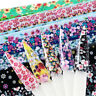 16 Sheets Flowers Nail Foils Colorful Art Transfer Stickers Decal DIY Manicure