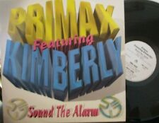 "PRIMAX feat KIMBERLEY ~ Sound The Alarm ~ 12"" Single PS"