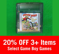 Extreme Sports with the Berenstain Bears (Nintendo GameBoy Color, 2000) - Cart