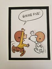 SNOOPY  GIMME FIVE