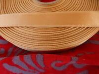 ...5m saumon satiné,ruban  pour bretelles soutien gorge   solide  neuf ,mercerie