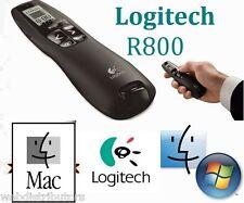Logitech R800 Wireless Professional Presenter Green Laser Pointer & USB Receiver