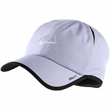 New Nike Feather Light Cap Hat Dri Fit Running Tennis 595510-531 Violet Haas