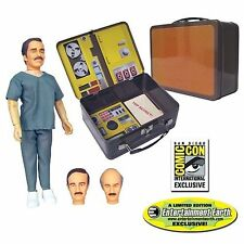 Six Million Dollar Man Dr.Wells with Tin Tote SDCC Exclusive Bif Bang Pow 013577