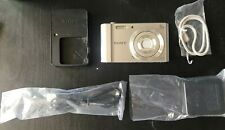 Sony Cyber-shot DSC-W800 20.1MP Digital Camera 5x Optical Zoom - Silver