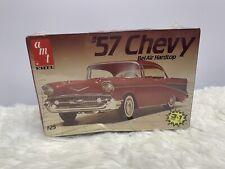 Vintage Amt 57 Chevy 1957 Chevrolet Bel Air Hardtop 1/25 model kit 6563 New