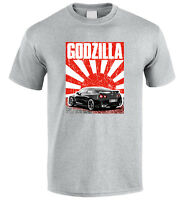T-shirt for GTR R38 GT-R SKYLINE GODZILLA DRIFT TUNING JDM tee T-shirt  S-XXL