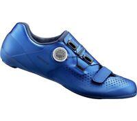 Shimano Unisex SH-RC500 Rennrad Straßen Schuhe System SPD-SL Blau