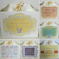 Personalised Baby Shower Gift Box Gender Reveal Party New Baby Present Box