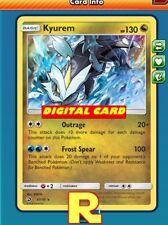 Kyurem (Dragon Majesty) - for Pokemon TCG Online (DIGITAL ptcgo in Game Card)