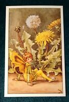 CICELY MARY BARKER FLOWER FAIRIES POSTCARD, THE DANDELION FAIRY, OF THE SPRING