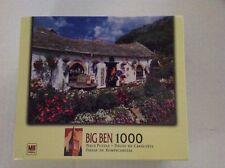 "1000pc 2004 Hasbro Big Ben "" Bocastle, Cornwall, UK"" puzzle 12+"