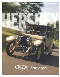 R M Sotheby's 2x catalogues  Auctions Hershey Pennsylvania 08-09 October 2015 HB