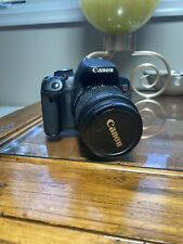 Canon EOS Rebel T4i / EOS 650D 18.0MP Digital SLR Camera - Black + Batteries&Bag
