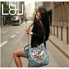 LOUIZ & LOU - Zugbeutel mit Wendepailletten, Denim (Jeans)