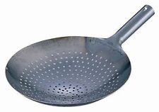 JAPAN BRAND YAMADA INDUSTRY IRON PERFORATED WOK 27CM - MADE IN JAPAN