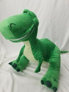"Disney Pixar Toy Story REX Dinosaur Very Large 18"" x 32"" High quality Plush. EUC"