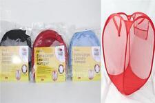 New Pop Up Durable Foldable Home Laundry Washing Basket Bag Hamper Storage Bin