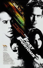 Fast and the Furious movie poster (a) - Vin Diesel poster, Paul Walker poster,