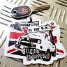 ≠VANARCHY IN THE UK T25 vw sticker oilcan stickers & decals wedge ratlook 80x75m