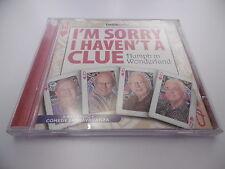 1'M SORRY I HAVEN'T A CLUE MARILENA IN WONDERLAND BBC R4 CD AUDIOLIBRO GARDEN