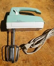 HTF Berkley mint green electric hand mixer