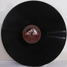 78 tours Aiguille 30cm Disque Yvonne ARNAUD -LA FILEUSE -HIS MASTER'S VOICE 2456
