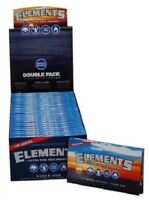 FULL BOX 25PKS Elements Single Wide 1.0 Ultra Thin Rice Cigarette Rolling Papers