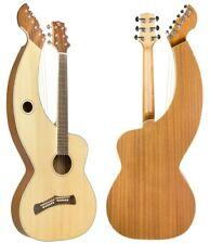Tonedevil Model D Harp Guitar, Solid Spruce Top