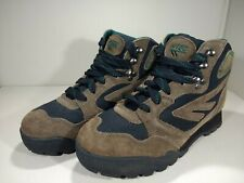 Hi-Tec Sierra Lite women's size 9 brown suede leather hiking boots,