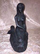 Vintage Heavy Hand-cast Metal Moby Dick Specialties Statue Mermaid Figurine