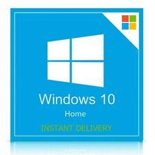 Microsoft Windows 10 Home 32/64 Bit Genuine License Key Product Activation Code