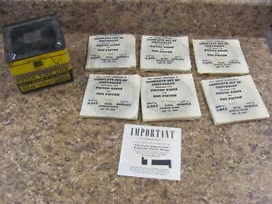 NOS Chevrolet Chevy 216 6 Cyl Piston Rings 608201 37-53 52 51 50 49 48 47 46 45