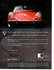 1962 PORSCHE 356 TWIN GRILL  ~  NICE INSURANCE AD