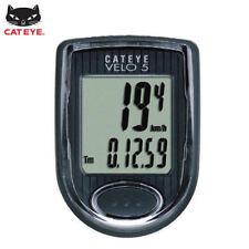 CATEYE Bike Bicycle Cycling Odometer Speedometer Passometer Waterproof VELO5_nV