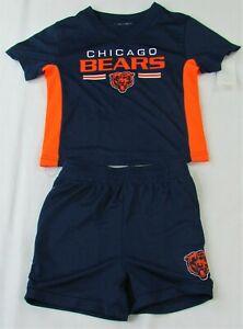 Chicago Bears NFL Blue Baby Boy Matching Top & Short Set